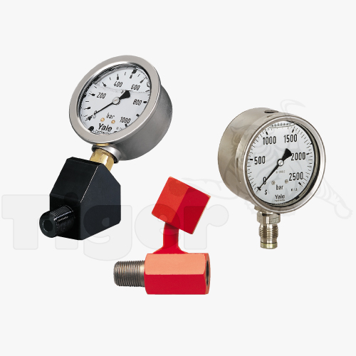 Yale Manometer & Adapter